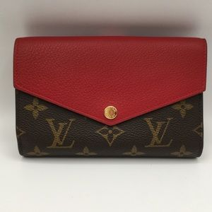 Authentic Louis Vuitton Pallas Compact Wallet